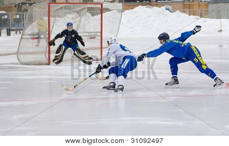 Dynamo(white) Vs Zorkij(blue)