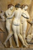 The Three Graces Were Three Sisters From Greek And Roman Mythology poster