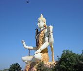 The Image Of Lord Shiva At Gujarat In India. poster