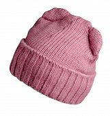 Pink Woman  Hat Isolated On White Background .womens Beach Hat . Colorful Hat  Front Side View. poster