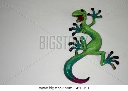 Gecko an der Wand
