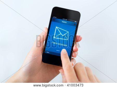 neue Nachricht auf Handy