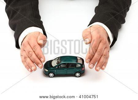 Versicherungs-Konzept