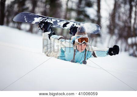 Sliding Down The Slope
