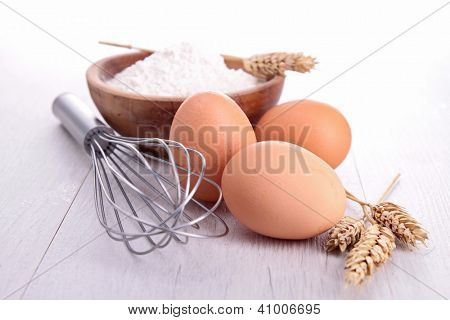 beater and egg