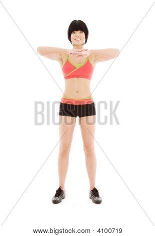 Lovely Fitness Instructor