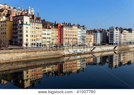 Saone River In The Morning Light