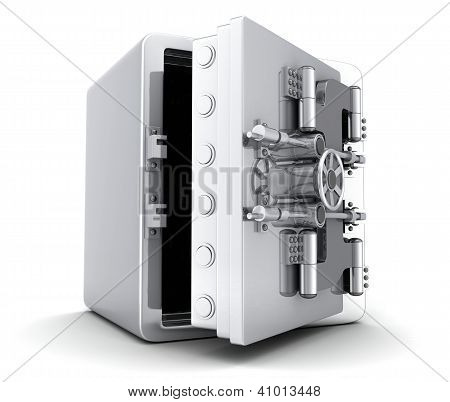 Large Safe, Open