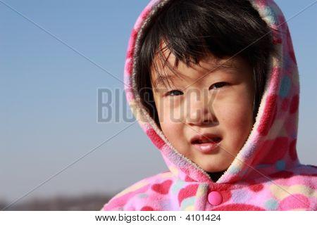 Happy Chinese Girl'S Childhood
