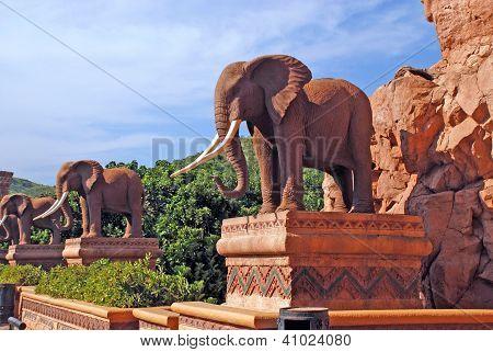 Statue Of Elephants