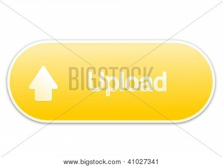 Upload button yellow (elipse)