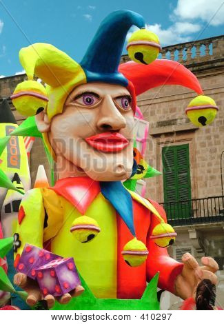 Karneval Joker Float 02