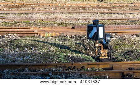 Narrow-gauge railway switch