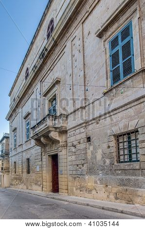 Inquisitor's Palace In Vittoriosa (birgu), Malta