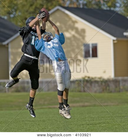 Youth Football Interception