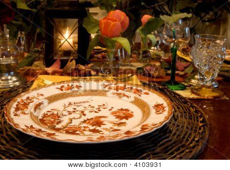 Thnaksgiving Table Setting