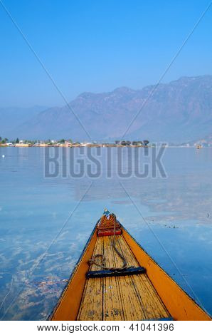Boat around the Dal Lake Srinagar , Jammu & Kashmir state, India