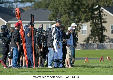 Youth Football Sidelines