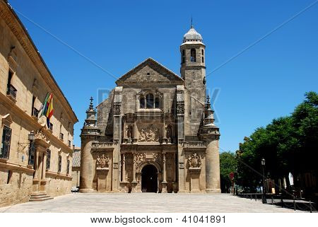 El Salvador Church, Ubeda, Andalusia, Spain.