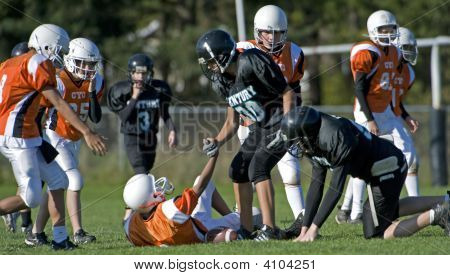 Youth Football After The Tackle