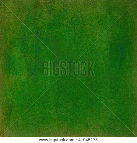 Abstract Green Colorful Background Or Paper With Grunge Texture