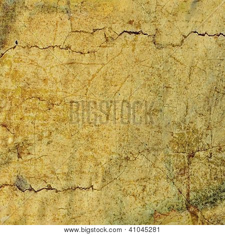 Abstract Brown Or Yellow Colorful Background Or Paper With Grunge Texture