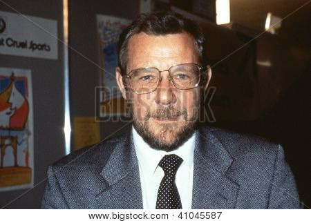 BRIGHTON, ENGLAND - OCTOBER 1: Richard Caborn, Labour party Member of Parliament for Sheffield Central, attends the party conference on October 1, 1991 in Brighton, Sussex.