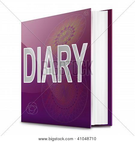 Diary Book.