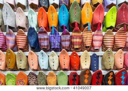 Colourful Slippers wall