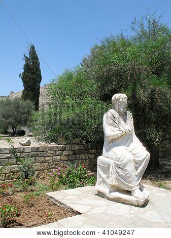 Roman Statue In Gortys