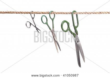 Three Scissors