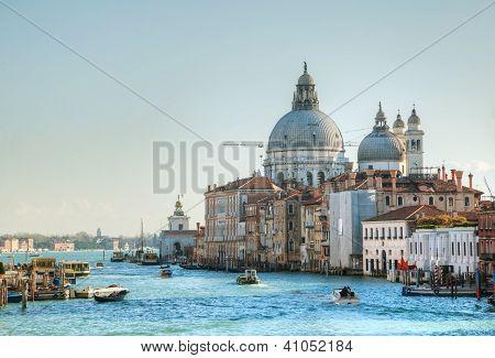 View To Basilica Di Santa Maria Della Salute