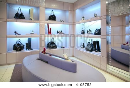 Shoes And Bags In Store