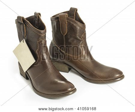 New Boots With Tag