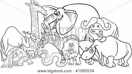 Vectores y fotos en stock de Dibujos animados de animales de ...