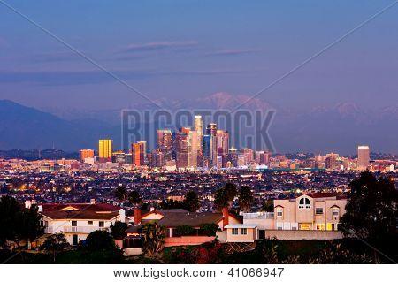 Los Angeles at night