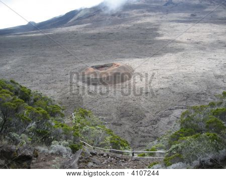 Formica Leo Volcano In Reunion Island