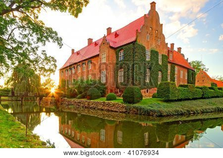 Castle Trolle-Ljungby in southern Sweden