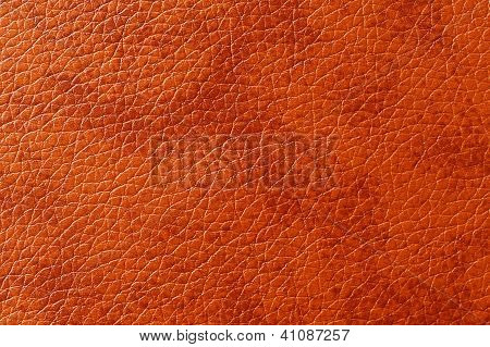 Brownish-Red Patterned Artificial Leather Texture