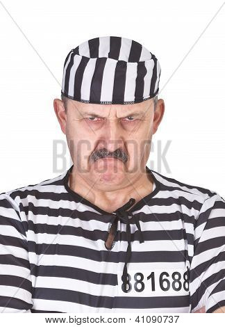 Portrait Of An Angry Prisoner