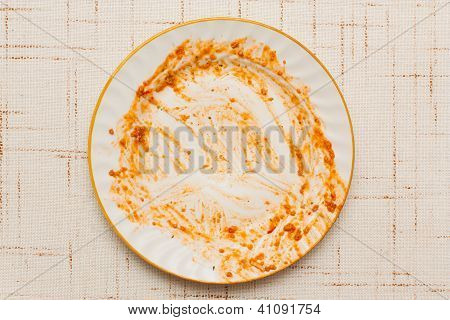 Dirty Plate