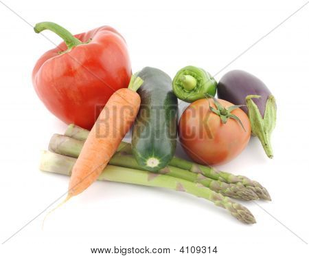Still Life Of Vegetables