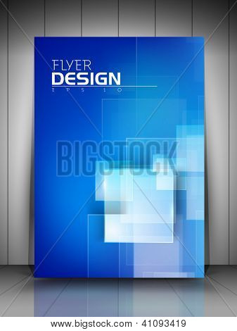 Professional business flyer template or corporate banner design  for publishing, print and presentation. EPS 10.