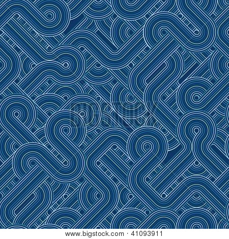 Twisted lines pattern