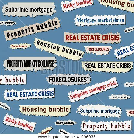 Housing market crisis