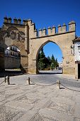 foto of baeza  - Puerta de Jaen built in 1521 and Arco de Villalar  - JPG