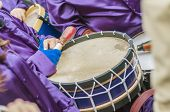 Tamborrada Drum Gathering At Calanda, Spain