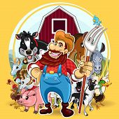 image of jackass  - An Illustration of Farm Life.