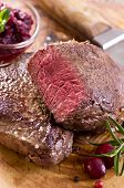 foto of ribeye steak  - argentinian beef steaks - JPG