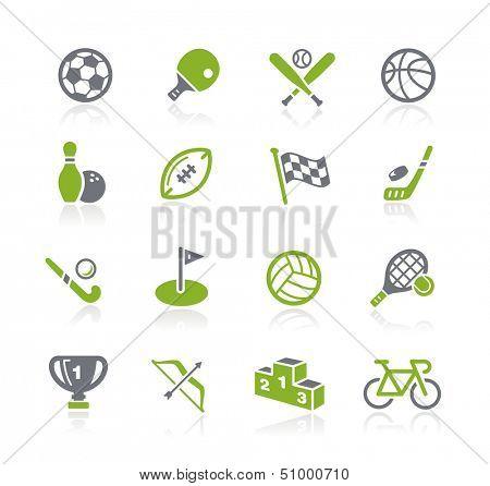 Sports Icons // Natura Series